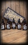 Schmiere Set Beard Oil - 5 flavours, each 50ml