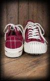 Burnout-Sneaker Lo Top - bordeaux_