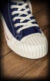 Burnout-Sneaker - navy blue_