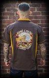Bowling Shirt Hang loose, Surf's up_