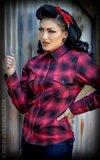 Ladies Plaid Shirt - My Dixie Darling_