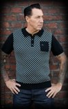 Knitted Polo Shirt Indianapolis grey_