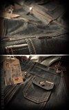 Denim Dungarees Raw Selvage_