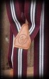 Suspenders Colour combination bordeaux