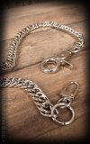 Rumble59 Wallet chain with spark plug_