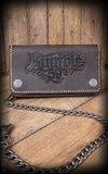 Leather Wallet - brown or black_