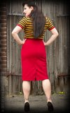 Perfect Pencil Skirt - red_