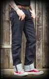 Raw Denim - Blue Burning Blacktop_