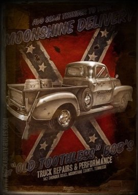 Poster - Moonshine Delivery