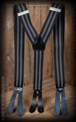 Suspenders Colour combination black