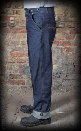 Jeans RAW Loose Fit Denim - Dapper Workman