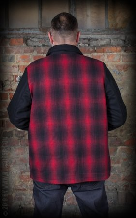 Checked Jacket Red Rock
