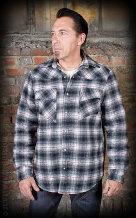 Winter Shadow Plaid Shirt - Idaho