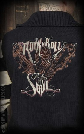 Racing Sweater - R'n'R rules my soul