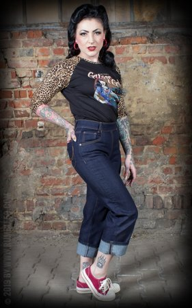Ladies Denim - Pedal Pusher