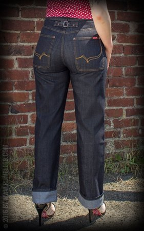 Ladies Worker Jeans Restless Rosie