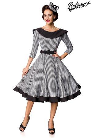 Houndstooth vintage dress