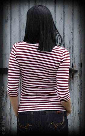 Striped Shirt Let's be Audrey!