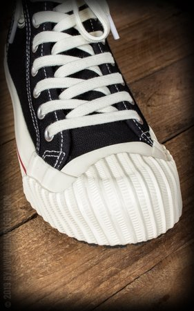 Burnout-Sneaker - black