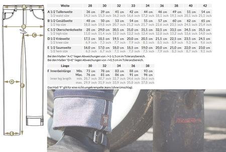 Jeans Male Slim Fit RAW Selvage Denim