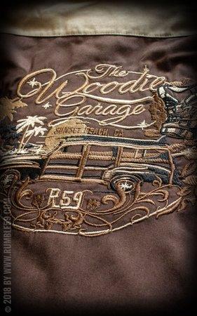 Blouse The Woodie Garage - brown