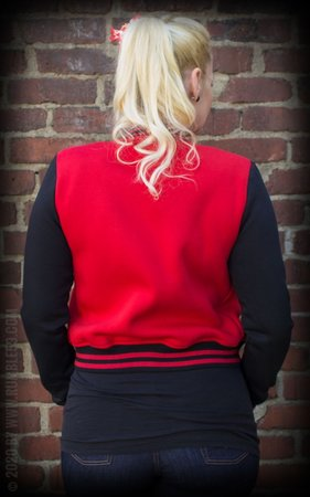 Ladies Sweat College Jacket - Good or bad