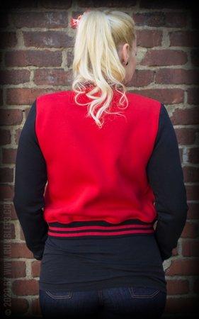 Ladies Sweat College Jacket - Good or bad