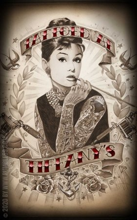Poster - Tattoed at Tiffany's