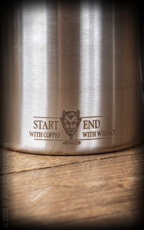 Cup set - Start with coffee, end with whisky