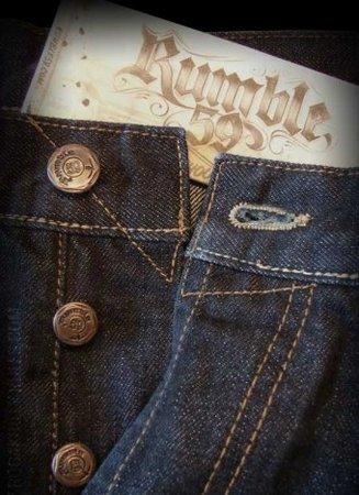 Rumble59 Jeans - Raw Denim