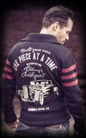 Racing Sweater Johnny's Junkyard