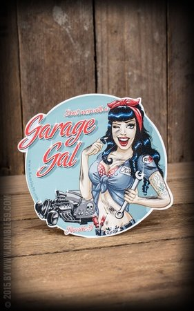 Sticker Garage Gal