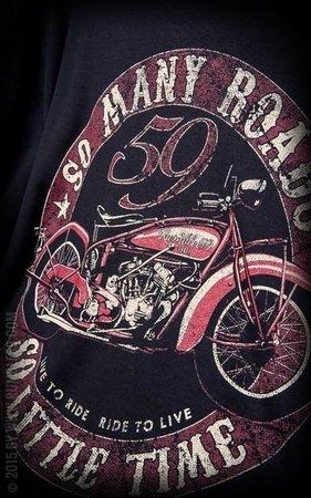 T-Shirt Many Roads - Little Time