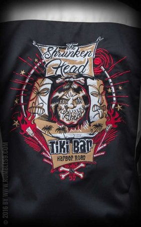 Bowling Shirt Shrunken Head