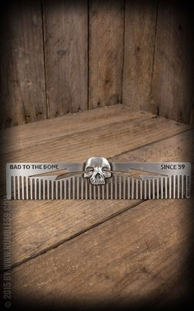 3D Comb Skull - Bad to the Bone