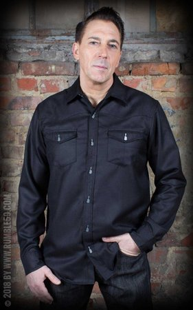 Classic Gentleman's Shirt - black