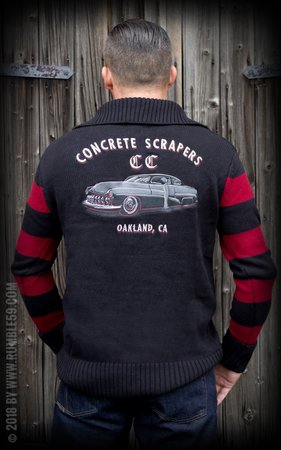 Racing Sweater Concrete Scrapers