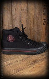 Burnout-Sneaker - black/black