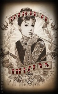 Poster - Tattoed at Tiffany's