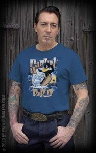 T-Shirt Surfin' Bird - blau