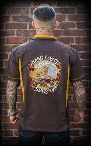 Bowling Shirt Hang loose, Surf's up