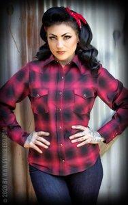 Ladies Plaid Shirt - My Dixie Darling