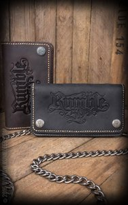 Leather Wallet - brown or black