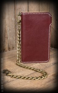"Leather Wallet ""2-Tone"" - Cash Only"