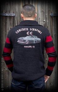 Racing Sweater Concrete Scrapers