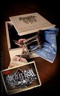 Set Lederen riem Brando bruin+Buckle Rock'n'Roll Until I Die
